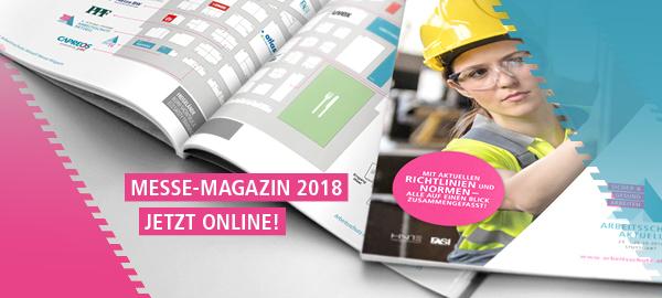 Arbeitsschutz Aktuell Messe-Magazin 2018