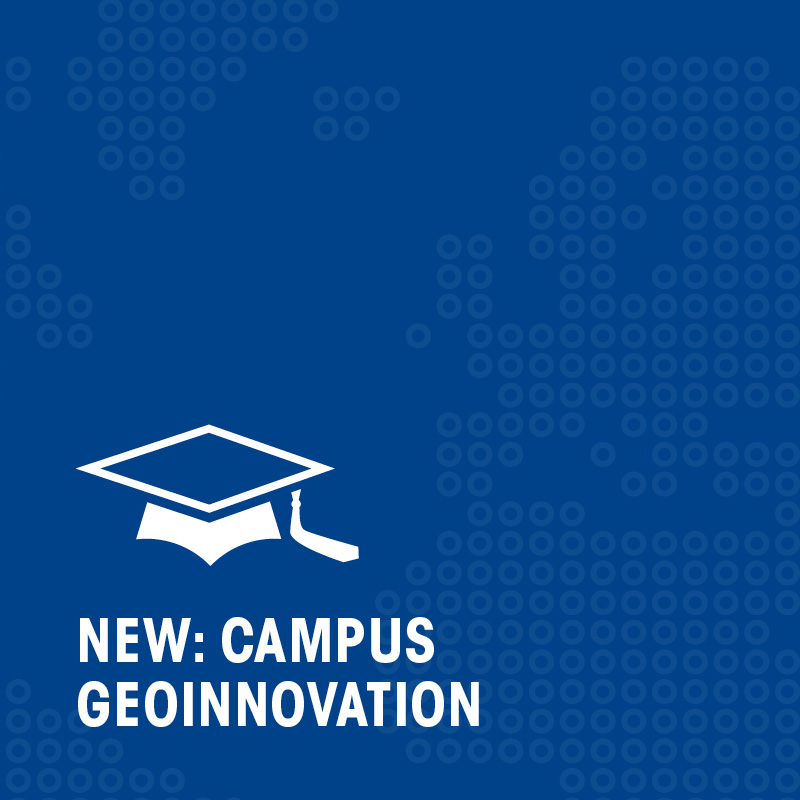 New: Campus Geoinnovation