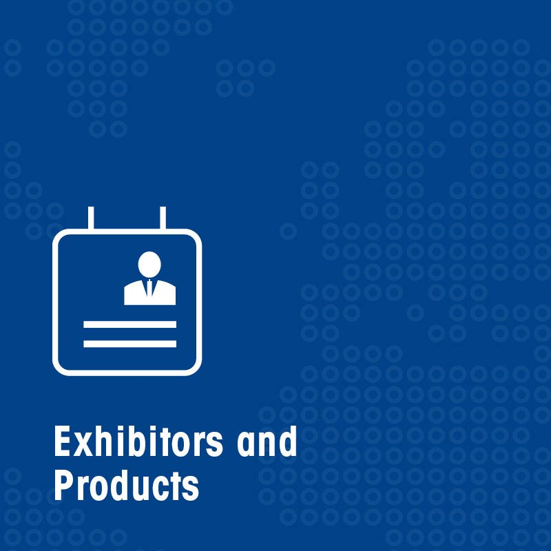 Exhibitors & products